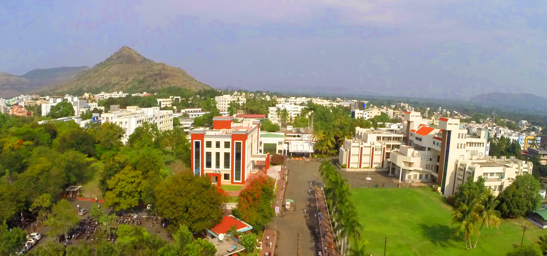 arial view of Krishna Institute of Medical Sciences deemed to be University
