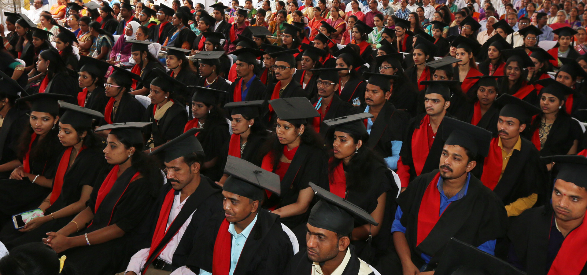 Student convocation ceremony